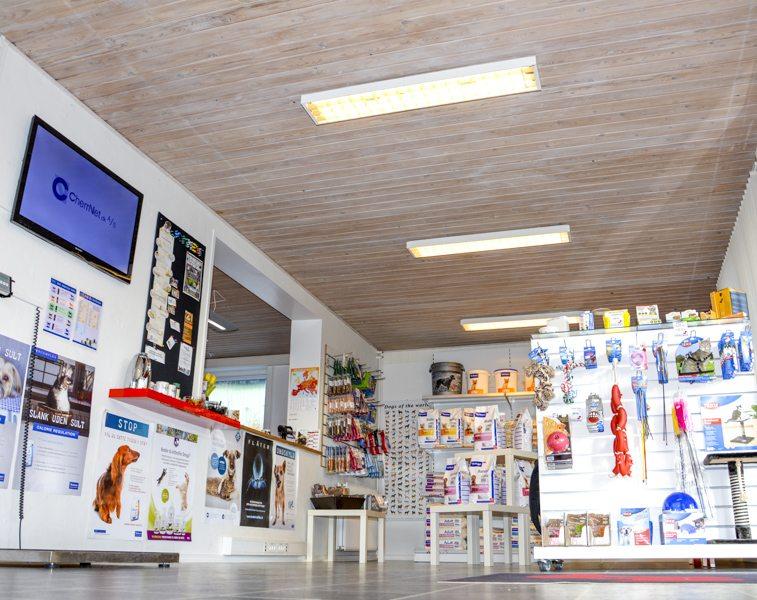 Butikken hos Dyrlæge Morten Brøgger